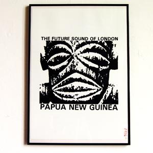 Papua New Guinea (Silk Screen Print)