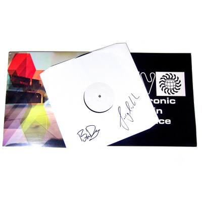 Archived 8 White Label Test Pressing